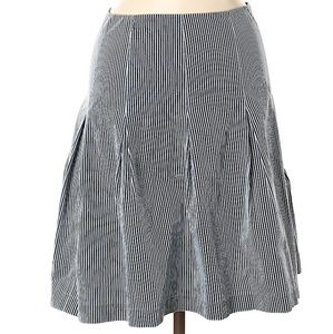 Rebecca Taylor Striped Casual Skirt